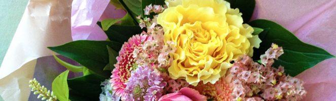 はじめての花贈り男子を応援します。