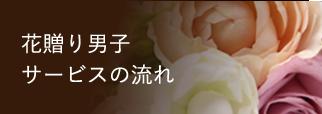 花贈り男子 サービスの流れ